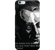 Immanuel Kant  iPhone Case/Skin