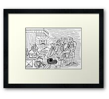 Everyone is a STAR! Framed Print