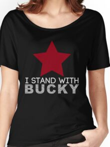 I Stand With Bucky Women's Relaxed Fit T-Shirt