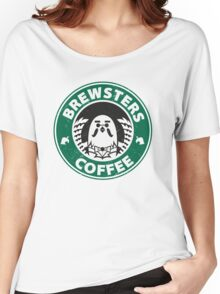 Brewsters Coffee (distressed) Women's Relaxed Fit T-Shirt