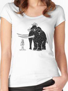 Frozen Mammoth Women's Fitted Scoop T-Shirt