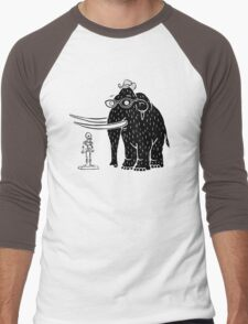 Frozen Mammoth Men's Baseball ¾ T-Shirt