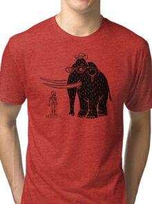 Frozen Mammoth Tri-blend T-Shirt