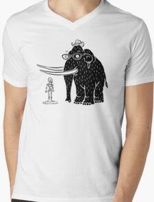 Frozen Mammoth Mens V-Neck T-Shirt