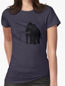 Frozen Mammoth Womens Fitted T-Shirt
