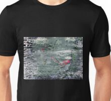 In the Darkness of the Night - Original Wall Modern Abstract Art Painting Original mixed media Unisex T-Shirt