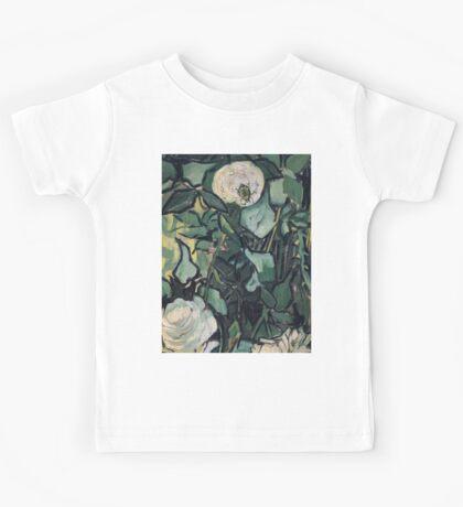 1890-Vincent van Gogh-Roses-24,5x33,5 Kids Tee