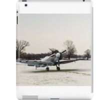 Spitfires in the snow iPad Case/Skin