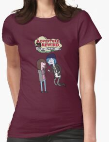 Adventure Rewind Womens Fitted T-Shirt