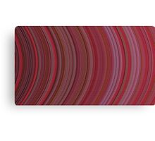 curve ribbon pattern red Canvas Print