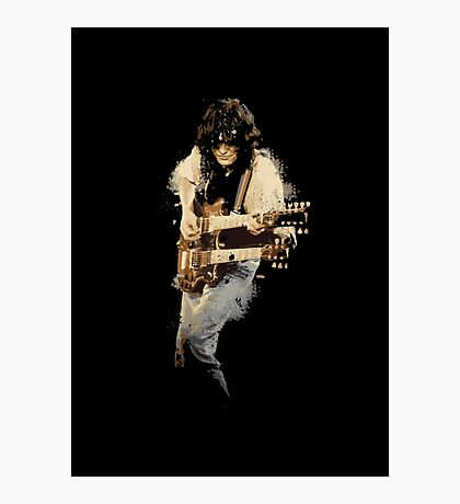Jimmy Page Photographic Print