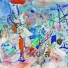 Kea Blue - Jenny Davis  by Jenny Davis