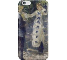 Auguste Renoir - The Swing 1876  Romance iPhone Case/Skin