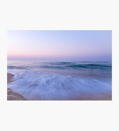 The Sea at Dusk Photographic Print