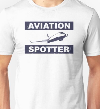 Aviation Spotter 737-blue Unisex T-Shirt