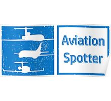 Aviation Spotter three plane Poster