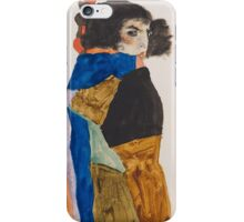 Egon Schiele - Moa 1911 Woman Portrait iPhone Case/Skin