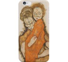 Egon Schiele - Mother and Child 1914 iPhone Case/Skin