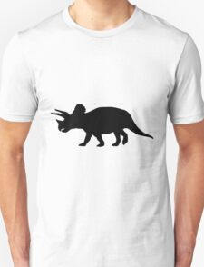 Triceratops Shadow Unisex T-Shirt