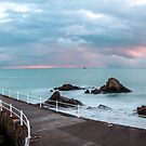 La Rocque winter sunset by Gary Power