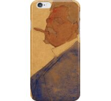Egon Schiele - Portrait of Leopold Czihaczek 1908 iPhone Case/Skin