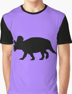 Triceratops Shadow Graphic T-Shirt