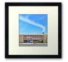 City Center Motel Framed Print