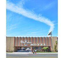 City Center Motel Photographic Print