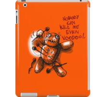cartoon style voodoo baby iPad Case/Skin
