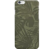 Tropical camo iPhone Case/Skin