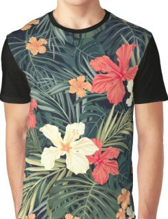 Jungle flowers Graphic T-Shirt