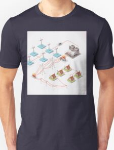 Energy Offshore Wind Farms Unisex T-Shirt
