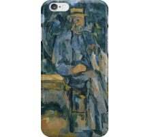 Paul Cezanne - Portrait of Peasant 1905 - 1906 iPhone Case/Skin