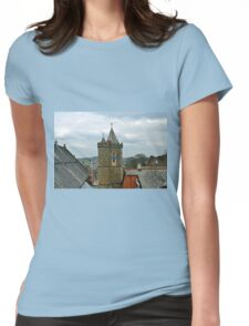 Clock Tower at Launceston Cornwall UK Womens Fitted T-Shirt