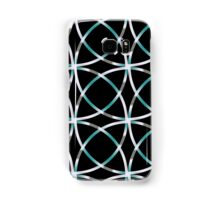 Intersecting Rings Fractal in TPGY Samsung Galaxy Case/Skin