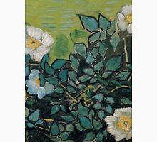 1890-Vincent van Gogh-Wild roses-24,5x33 Unisex T-Shirt