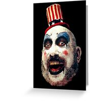 Captain Spaulding Greeting Card
