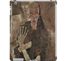 Egon Schiele - Self-Seer II Death and Man 1911  Expressionism  Portrait iPad Case/Skin
