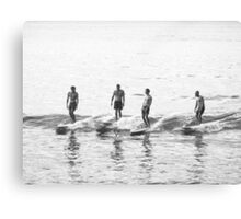 Men of Wood & Foam - Noosa Canvas Print