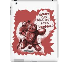 voodoo baby cartoon style red iPad Case/Skin