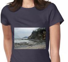 Duporth Beach,,Cornwall UK Womens Fitted T-Shirt