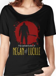 the adventures of NEGAN & LUCILLE Women's Relaxed Fit T-Shirt