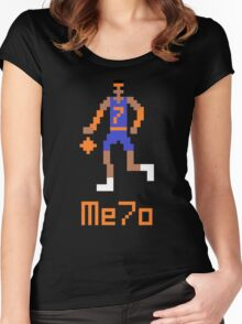 Me7o Pixel Women's Fitted Scoop T-Shirt