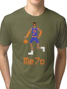 Me7o Pixel Tri-blend T-Shirt