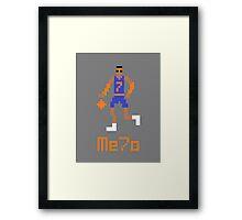 Me7o Pixel Framed Print