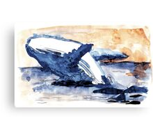 Gost of the sea Canvas Print