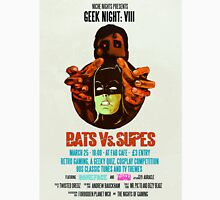 Geek Night: VIII Bats Vs. Supes Unisex T-Shirt