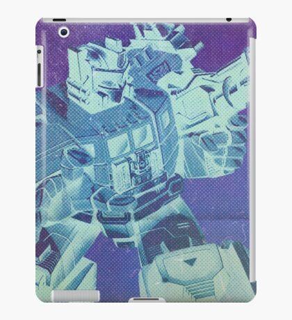 G1 Transformers Masterforce Poster iPad Case/Skin