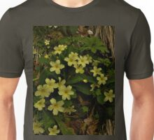 Primrose, Drumlamph Wood, County Derry Unisex T-Shirt