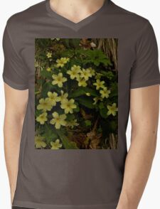 Primrose, Drumlamph Wood, County Derry Mens V-Neck T-Shirt